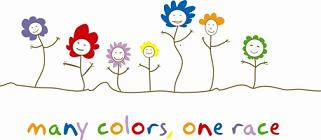 many colors,one race